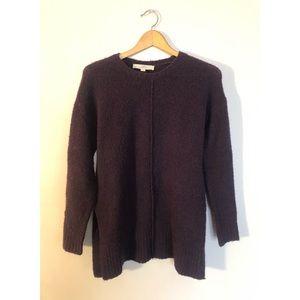 Long Purple Loft Sweater